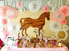 Fiesta tema caballos y comunión