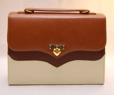 Who said briefcase's are only for men? Fashionable bags such as this one is a great alternative for the workplace.