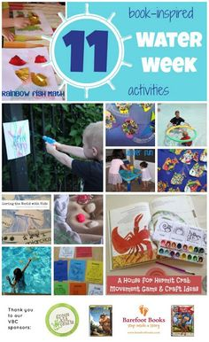 Toddler Approved!: 11 Book-Inspired Water Week Activities {and 2 Giveaways}