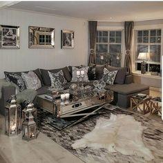 "3,164 Likes, 17 Comments - @home_design68 on Instagram: ""Credit  @hanas_home #interiordesign #dreamhome #heminspiration #homedecor #decorations #homedecor…"""