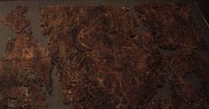 Oseberg textiles photos and link to unimus archive photos of the finds. English at the end.