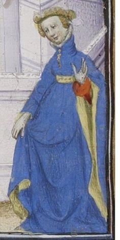 BnF MS French 598, De claris mulieribus, by Giovanni Boccaccio, circa 1403, fol. 155v.