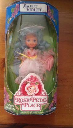 Kenner ~ 1984 Rose-Petal Place Doll ~ Sweet Violet MIB ~ RARE!