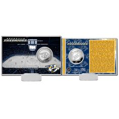 Nashville Predators Highland Mint History Coin Card - $19.99