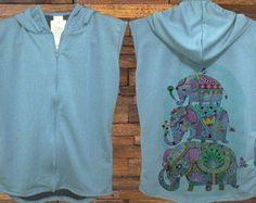 VEST Elefante UNICA PEÇA VER MEDIDAS