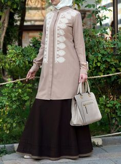 Shop online for stylish Islamic clothing designed for modern Muslim women and men. Modest Fashion, Hijab Fashion, Hijab Style Dress, Islamic Fashion, Islamic Clothing, Muslim Women, Tunic Tops, Hijabs, How To Wear