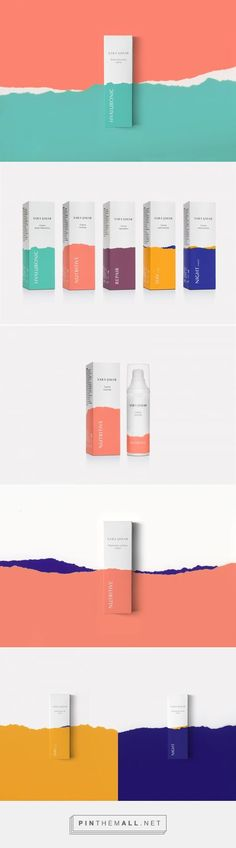 Sara Simar on Packaging of the World - Creative Package Design Gallery. - a grouped images picture - Pin Them All Skincare Packaging, Beauty Packaging, Cosmetic Packaging, Brand Packaging, Design Packaging, Pretty Packaging, Ad Design, Branding Design, Graphic Design