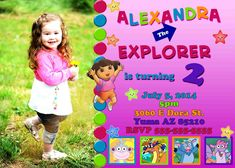 dora the explorer rainbow party for a 3 year old party things.  birthday party theme dora the explorer balloons decoration image fael  . top 10 party decorating for your child's how to make birthday invitations  modern simple party celebration. jake and the neverland pirates birthday cake...