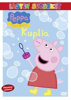 Pipsa Possu: Kuplia dvd. Pipsa Possu on rakastettava, rohkea pikku possu, joka asuu yhdessä nuoremman veljensä Jyrin, äitipossun ja isäpossun kanssa. Pipsasta on ihanaa pelata pelejä, pukeutua, käydä eksoottisissa paikoissa ja saada uusia ystäviä, mutta kaikkein parasta hupia on hyppely kuralätäköissä!