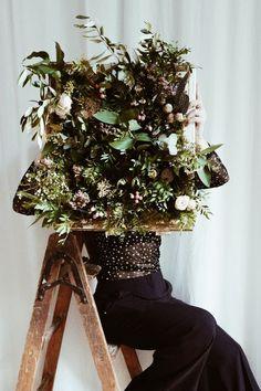 Handmade flower crown from Vienna. ❤ Exclusive custom made wedding crowns for brides ❤ Blumenkranz handgemacht in Wien anfertigen lassen. Handmade Flowers, Flower Crown, Flower Decorations, Ladder Decor, Magic, Bride, Wedding, Floral Wreath, Crown Flower