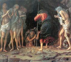 Mantegna, Discesa al Limbo, 1492, Tempera e oro su tavola, Barbara Piasecka Johnson Collection, Princeton.