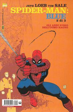"Tim Sale (disegni) & Jeph Loeb (storia) ""Spiderman Blue, 2 di 3"" - Marvel Italia, gennaio 2003"