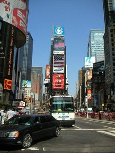 Times Square, with reclad Times Building now the site of the New Year's Eve Ball Drop, NYC, www.RevWill.com