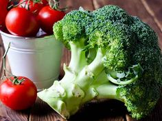 Tomatoes + broccoli