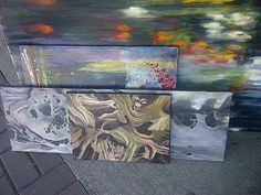 Art created by #UBC students featured at the UBC #Rasoee.