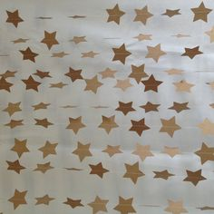3 Metres Natural Star Garland Vintage Shabby Chic  by 10PaperLane, $12.00