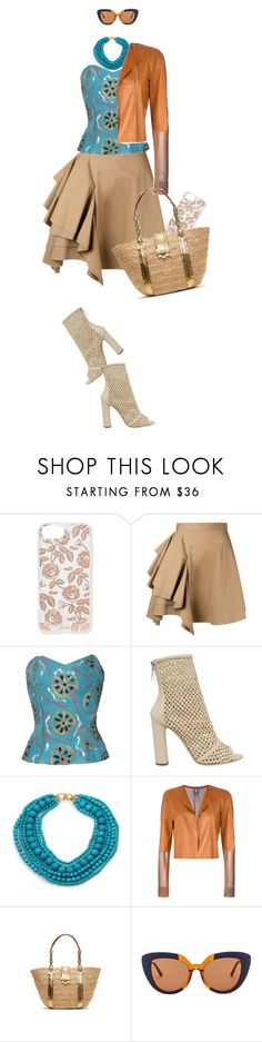 """""""..."""" by hani-bgd ❤ liked on Polyvore featuring Sonix, MSGM, Emilio Pucci, Casadei, Kenneth Jay Lane, Aviù, Michael Kors and Marni"""