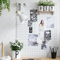 A Dreamy & Light Home Office