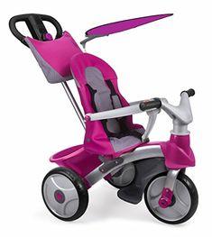 FEBER - Baby Trike Easy Evolution, triciclo, color rosa (... https://www.amazon.es/dp/B00OKU1WWQ/ref=cm_sw_r_pi_dp_x_Jq4PxbWRPD1JJ