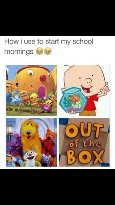 Yup haha I just realised how much I miss these shows. Cartoons are definitely  not what it used to be. My favourite was Rollie pollie olly