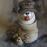 Christmas Clay, Christmas Crafts, Christmas Decorations, Christmas Ornaments, Rock Crafts, Crafts To Do, Polymer Clay Recipe, Clay Cross, Play Clay