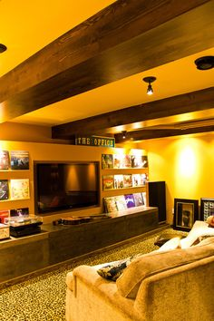 Image result for rooms with yellow walls and ceiling