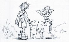 kingdom hearts concept art | Index of /Kingdom Hearts/Kingdom Hearts 1 Artwork/Concept Art/Final
