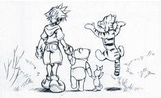 kingdom hearts concept art | Index of /Kingdom Hearts/Kingdom Hearts 1 Artwork/Concept Art/Final