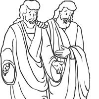 Worksheet. free lds clipart to color for primary children  First Presidency