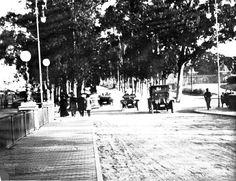 Av. Bushental, puente del arroyo Miguelete,  Prado, Montevideo, Uruguay. Montevideo Retro (IV) - SkyscraperCity Montevideo, Prado, Old Photos, Photo Puzzle, Retro Vintage, Nostalgia, France, Country, Outdoor