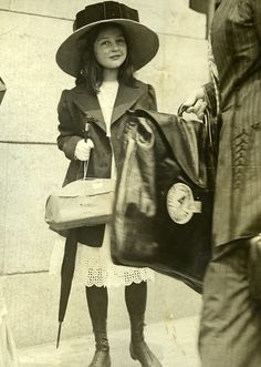 HEIRESS: The young Ava Alice Muriel Astor, 1917