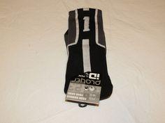 Player ID by TCK PCN MED # 1 TWI 1 sock black charcl vollyball basketball soccer #TCK #crewsock