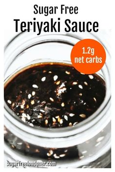 This keto teriyaki sauce contains all the wonderful flavour we love about this popular Japanese sauce, but none of the sugars and preservatives. A sugar free teriyaki sauce that you can use for marinating meat and fish or as a dipping sauce for appetisers! #ketoteriyaki #sugarfreeteriyaki Keto Sauces, Low Carb Sauces, Salad Recipes Low Carb, Keto Recipes, Sauce Recipes, Easy Recipes, Sugar Free Teriyaki Sauce, Best Sauce Recipe, Japanese Sauce