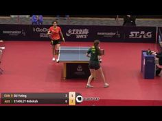 GU Yuting   STANLEY Rebekah 2017 Australian Open 호주오픈탁구대회