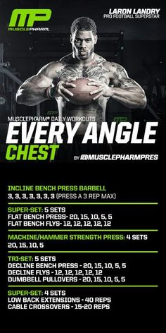 Chest workout: Add 4 sets of dumbbell presses, 4 sets of shotguns with dumbbells, 4 sets of weighted dips and you have a real chest workout to put on mass and definition.
