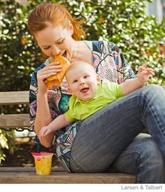 The Hungry New Moms Diet Plan - Parenting.com Awesome tips for eating more but not diminishing how you eat to bring in the extra calories.