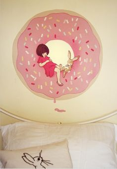 Belle & boo wall sticker