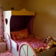 The perfect little girls princess bed!