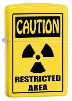 Caution Restricted Area Zippo Lighter Z28318 by Trevco. $27.95. This zippo lighter features a caution restricted design.