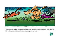 "As seen on NBC: ""The Earth Dog Story"" was first published in 1992, then in 1996 in cooperation with DOE as apart of their Environmental Out ..."