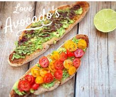 Avocado's on toast - the best breakfast!