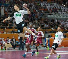 Not only Superman can fly #Handball (@BanusAlex)