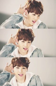 Suga is so adorable... that's why I love him... <3