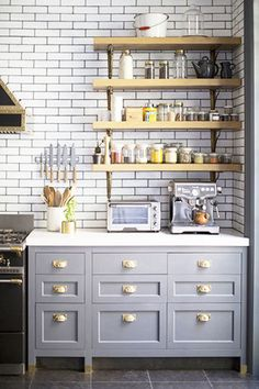 Minimal Model - 15 Times Painted Kitchen Cabinets Changed Everything - Photos