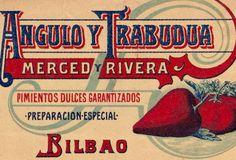 Angulo y Trabudua Merced y Rivera Pimientos dulces.Bilbao,1893