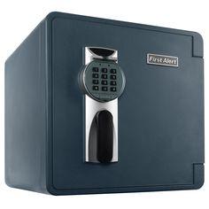 First Alert 2092DF Waterproof 1-Hour Fire Safe with Digital Lock