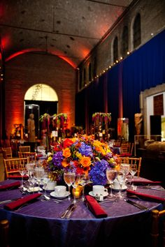 this space is flexible enough to accommodate presentations dancing or a dinner party wwwpennmuseumweddings