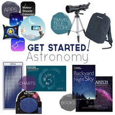 Get Started Today: Budding Astronomer