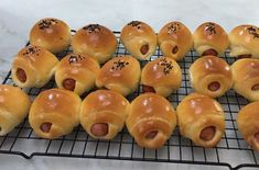 These little buns are super addictive, my two boys each had 4 at a go, before they called it a day. Try to get better hot dogs, I used mozzarella and tomato hot dogs for these. The dough is based o…