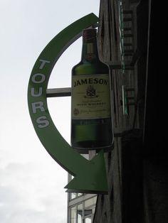Jameson Irish Whiskey Distillery, Dublin.